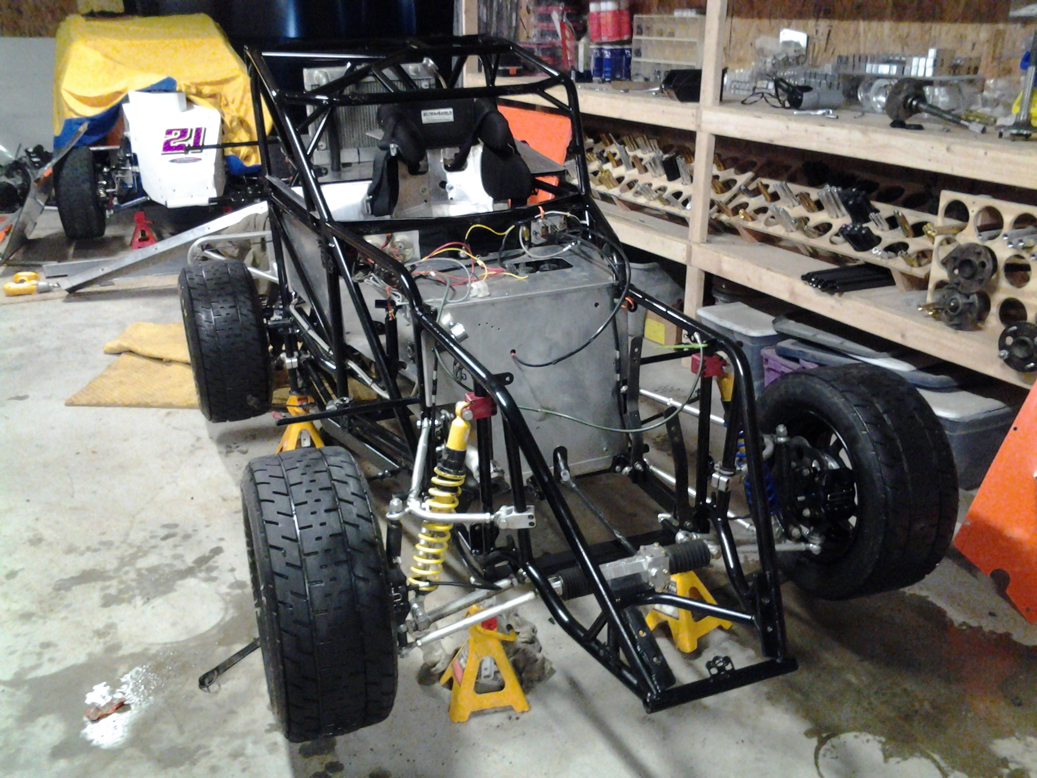 Used sprint car chassis for sale 17